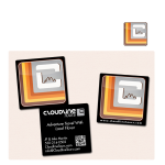 Cloudline logo, decal and business cards
