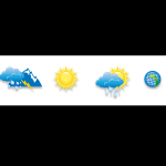 Weather consultant icons