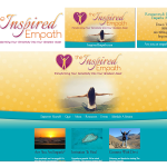 Logo, branding and web design for The Inspired Empath