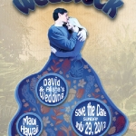 Wedstock wedding invite