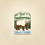 Bear Creek logo for a Canadian Contracting company