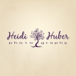 Logo for Heidi Huber Photography