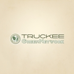 Truckee Green Network Logo Design
