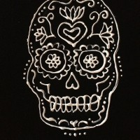 Art Life Hacks – Painted Day of the Dead Shirt