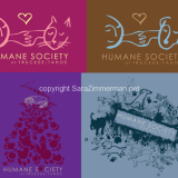 I created four illustrations for the Human Society of Truckee Tahoe's fundraising shirts. These designs were each created out of hand drawn components and were brought into adobe illustrator to be made into camera-ready designs. These 4 designs were made into shirts that have been great sellers for the HSTT this summer.