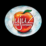 Juju Z Logo: I hand-painted a peach for Juju Z Treat Company to make them a unique look for their unique, hand-made products.