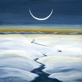 Arctic Calm, Acrylic on Canvas- 25.5 in x 25.5 in – $790