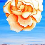 Gardenia Skies, Acrylic on Canvas, 36 in x 24 in – $1090