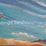 Landscapes of Communication, Acrylic on Canvas- 8 in x 24 in – SOLD