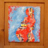 Pregnant No.1, Mixed media on wood – $490