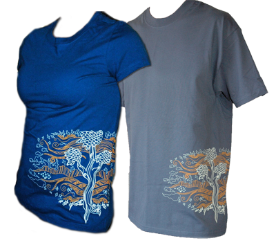 Women's and Men's 2010 Earth Day T-shirts are still available