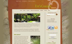 EvesGardenDesign is the new website I designed