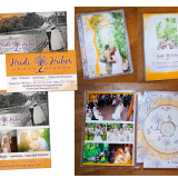 Heidi Huber Photography branding and DVD case