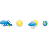 Weather consultant icons for website