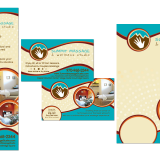 Graphic design, branding, postcard design, business card design, rack card design, flyer design for Summit Massage in Colorado