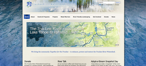 Truckee River Watershed Council website