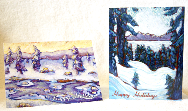 Holiday Cards by Sara Zimmerman
