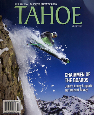 Sara Zimmerman in Tahoe Quarterly