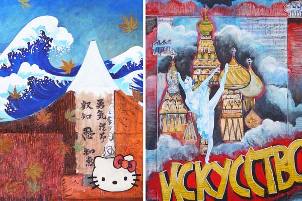 Japan and Russia by Sara Zimmerman, Carole Sesko and Eve Werner