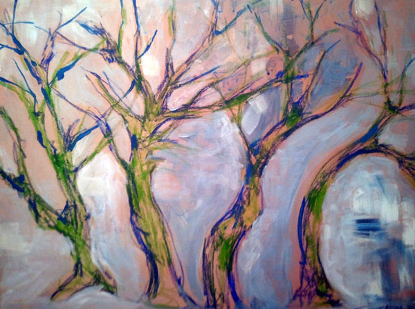 Dancing Trees by Sara Dube