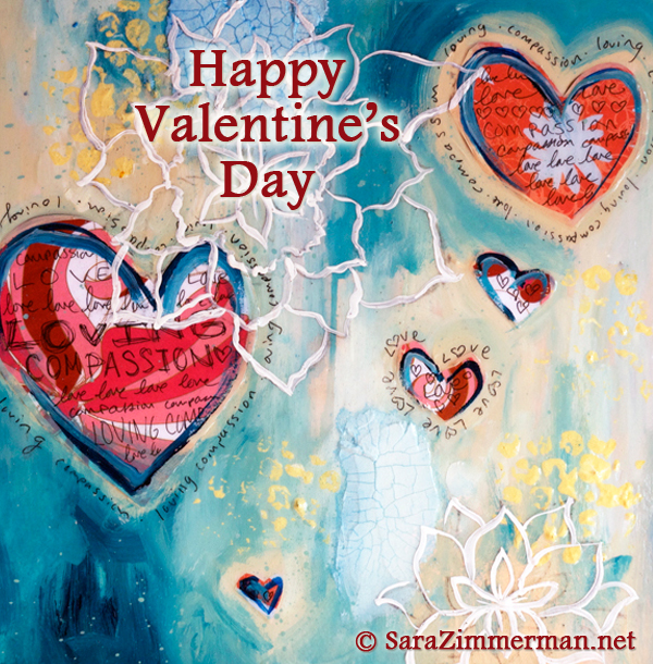 LovingCompassion free eCard for Valentine's Day by Sara Zimmerman