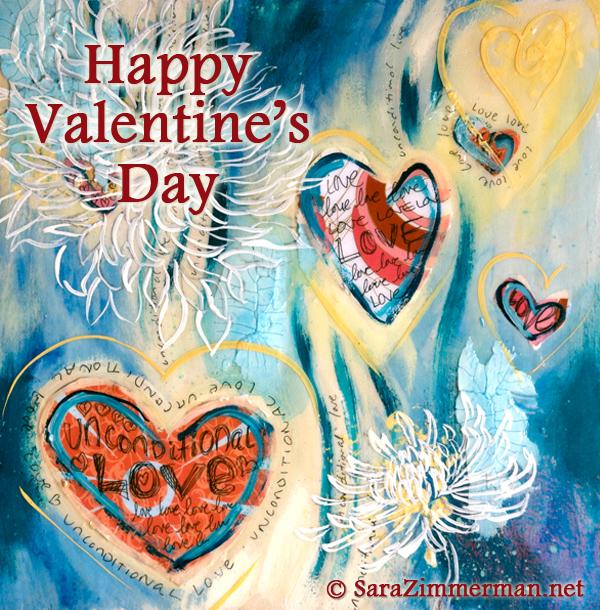 UnconditionalLove free Valentine's Day eCard by Sara Zimmerman