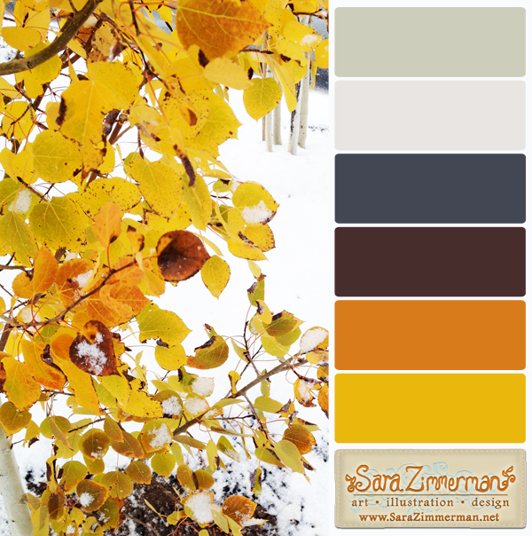 Color palette ideas for fall and winter