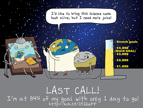Unearthed Comics kickstarter is almost there.