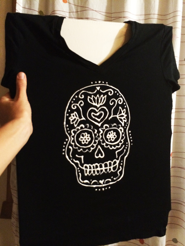 Day of the dead shirt designs