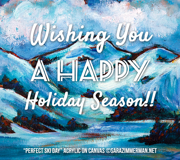 free ecard for happy holidays from Sara Zimmerman