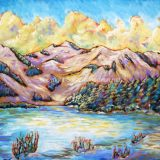 Squaw Dreams – acrylic on canvas 54 in x 36 in – (reg. $2500) SALE: $1250