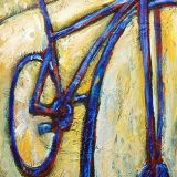 Summer Ridin', 12in x 36in, acrylic on wood panel – (reg) $540; sale $270