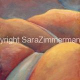 The Long Road Home, Acrylic on Canvas- 36 in x 12 in – (reg. $490) SALE: $245