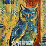 Transcending Sorrow (Owl Wisdom), 12in x 12in, acrylic on canvas – SOLD