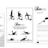 log design, photo touch up, book layout, book design, stationery design, responsive website design, social media branding for pilates company