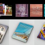 Logo design, branding development, book design, book layout, book mock ups, social media design and web design for interior decorator