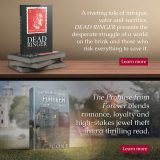 book mock up and website design for author