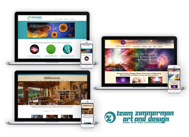custom website design and development in Lake Tahoe Truckee by best Tahoe designers