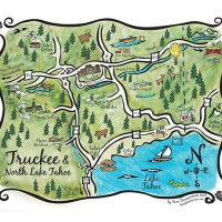 Can I use your Tahoe Map for my Wedding (and get it customized?)
