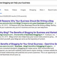 Google Says: It's Time to Blog!