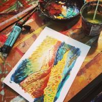 Sara Zimmerman Art + Comics Radio Interview – 12/8/2016
