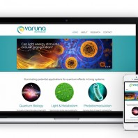 Case Study: Varuna Biomedical – Graphic + Web Design